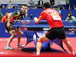 Timo Boll gegen Zhang Jike