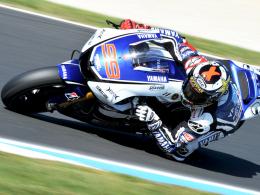 Neuer MotoGP-Weltmeister: Der Spanier Jorge Lorenzo triumphierte nach 2010 zum zweiten Mal.