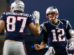 Rob Gronkowski und Tom Brady