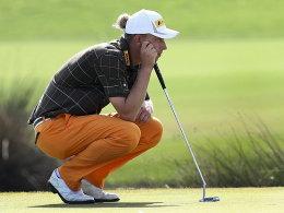 Der Ratinger Golfprofi Marcel Siem.