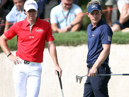 Rory McIlroy und Luke Donald