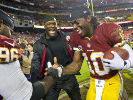 Barry Cofield und Robert Griffin III