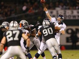 Der Pferdeflüsterer: Mit Peyton Manning sind die Denver Broncos wieder glücklich.
