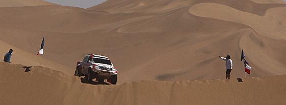 Die Rallye Dakar: 8574 km in 14 Etappen.