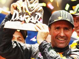 Titelverteidiger: Stephane Peterhansel triumphierte 2012 bei der Rallye Dakar in der Automobilwertung.