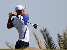 Guter Start ins Jahr: Martin Kaymer am Sonntag in Abu Dhabi.