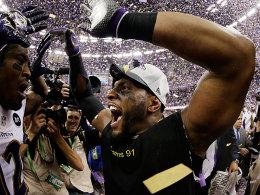 17 Jahre, zwei Titel, unzählige Sacks: Ray Lewis beendet seine NFL-Laufbahn mit einem weiteren Ravens-Triumph.