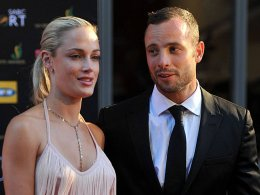 Oscar Pistorius soll seine Freundin Reeva Steenkamp (li.) erschossen haben.