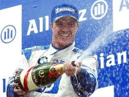 Sechs Grand-Prix-Siege feierte Ralf Schumacher in der Formel 1 - hier 2003 auf dem Nürburgring.