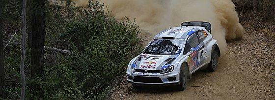Geschmeidig durch die Kurve: Sébastien Ogier im VW.