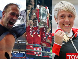 Robert Harting, der FC Bayern und Christina Obergföll
