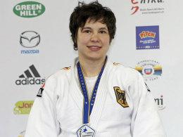 Hat allen Grund stolz zu sein: Laura Vargas Koch, WM-Zweite im Judo.