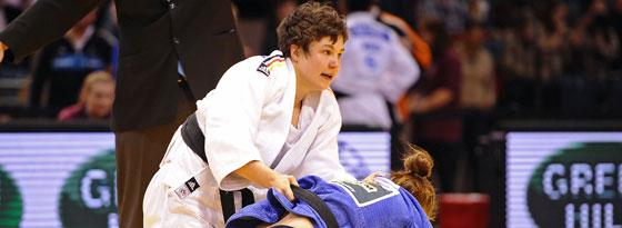 Starke Leistung: Laura Vargas Koch wird WM-Zweite im Judo.