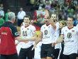 Deutschlands Volleyballer d�rfen sich weiter freuen.