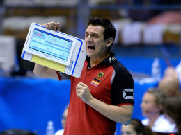 Giovanni Guidetti, Bundestrainer der Volleyballerinnen