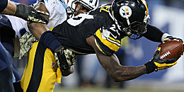 Holte ein First Down nach dem anderen: Steelers-Runner Le'Veon Bell.
