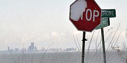Stop! Der Winter hat den Nordosten der USA fest im Griff.