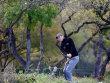 Aus dem Unterholz: F�r Martin Kaymer l�uft es in Texas bislang nicht glatt.