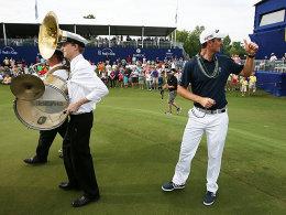Vorne spielt die Musik: Justin Rose holte sich den Turniersieg in New Orleans.