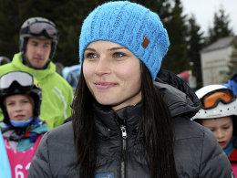 Abgereist: Alpin-Star Anna Fenninger.