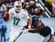 Vertragsverl�ngerung bis 2020: Dolphins-Quarterback Ryan Tannehill (li.).