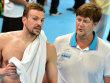 Vorletzter Karriereh�hepunkt: Paul Biedermann (re. Trainer Frank Embacher) schwimmt noch Kasan und kommendes Jahr Rio.