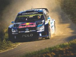Auf dem Weg zum Sieg bei der Deutschland-Rallye: Sebastien Ogier.