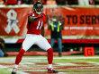 Streicht in f�nf Jahren satte 72 Millionen US-Dollar ein: Falcons-Receiver Julio Jones.