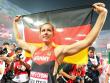 Katharina Molitor jubelt �ber Speerwurf-Gold.