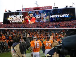 Rekord! Trauriger Peyton Manning schafft sie alle