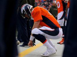 Denver reagiert und setzt Manning auf die Bank