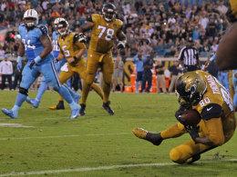Jaguars gewinnen Abwehrschlacht gegen die Titans