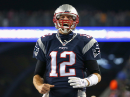 Brady und die Pats erh�hen auf 10:0 und 74:0