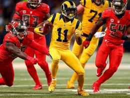 Rams gewinnen Farbspiel - Jets kegeln Cowboys raus