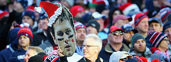 """Schönes Geschenk an die Pats-Fans: """"Weihnachtsmann"""" Tom Brady führte New England zum Division-Sieg."""
