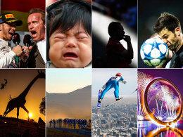 Augenblicke des Jahres: Die Welt des Sports unter der Linse.