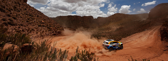 Glühende Hitze und Wüstenstaub, klirrende Kälte und Höhenluft: Die Rallye Dakar fordert wieder einmal Höchstleistungen.