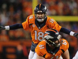 Manning ist zur�ck - Rekorde f�r Newton und Wilson