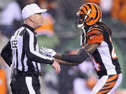 Cornerback Adam Jones hatte seine Nerven nicht im Griff und erwies seinen Cincinnati Bengals einen Bärendienst.