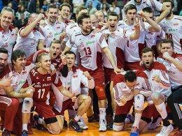 Am Ende jubelten die Polen: Der Weltmeister darf noch immer von Rio tr�umen.