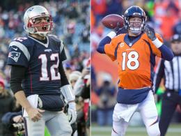 Manning vs. Brady: Das 17. Duell steht an