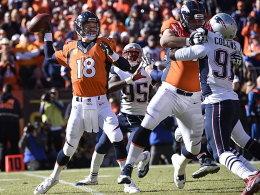 Manning sticht Brady aus: Broncos im Super Bowl