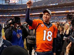 Manning ohne Beschwerden - Gnade der Referees
