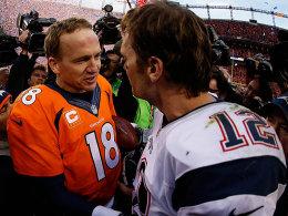 Peyton Manning und Tom Brady