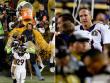 Headcoach Gary Kubiak und Quarterback-Legende Peyton Manning