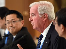 Das Vertrauen in den Sport ist nicht nur in seinen Augen derzeit hauchdünn: WADA-Präsident Sir Craig Reedie.