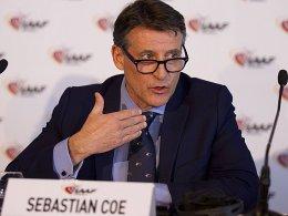 Hofft auf Imagegewinn für seine Sportart: Leichtathletik-Präsident Sebastian Coe.
