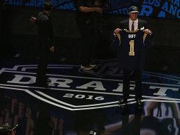 Goff ist im Draft die Nummer 1