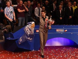 Doppeltes Gl�ck f�r Leicester: Mark Selby triumphierte in Sheffield.
