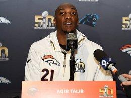 NFL-Splitter: Ein Schuss, ein Empfang, ein �bler Scherz